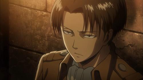 Attack on Titan karatasi la kupamba ukuta possibly containing anime called Levi Rivaille
