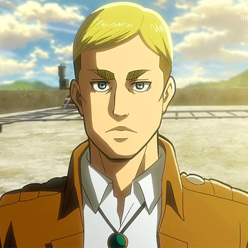 Attack on Titan karatasi la kupamba ukuta probably containing anime called Erwin Smith