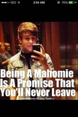 Austin Mahone wallpaper probably with a portrait and anime called Mahomie 4life<3