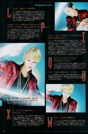 B.A.P for Haru Hana magazine vol. 21 (Dec