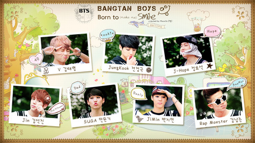 BTS پیپر وال possibly containing a newspaper and عملی حکمت entitled ♡~♡ BTS! ♡~♡