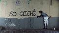 First Banksy in Paris