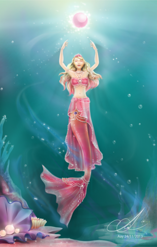 Barbie Movies wallpaper called The Pearl Princess - Fan art