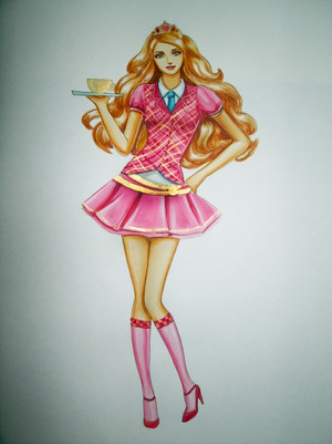 búp bê barbie Blair Willows