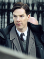 Ben filming The Imitation Game - benedict-cumberbatch photo