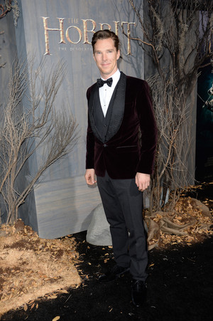 Benedict at The Hobbit Premiere