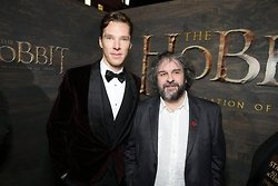 Benedict and Peter at The Hobbit Premiere