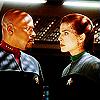 Sisko and Jadzia