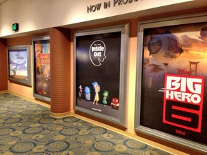 Big Hero 6 Teaser Poster at Disney's Hollywood Studios in WDW