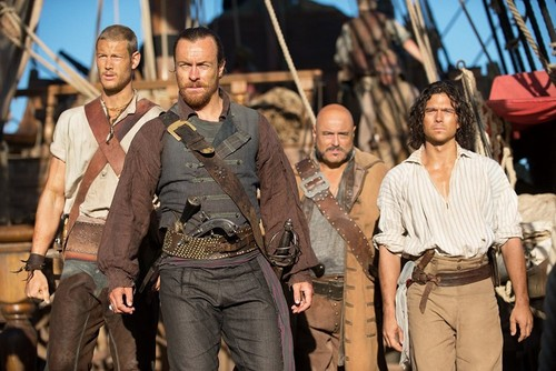 Black Sails দেওয়ালপত্র entitled Black Sails - Season 1 - First Look