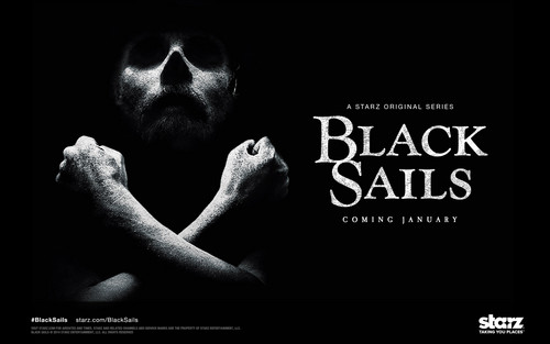 Black Sails দেওয়ালপত্র probably containing a sign titled Black Sails