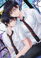 Rin and Yukio - blue-exorcist fan art