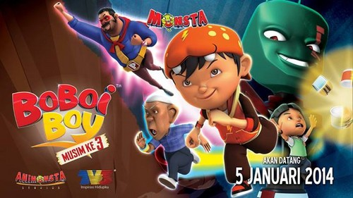 Boboiboy wallpaper probably containing anime titled Season 3, January 5, 2014
