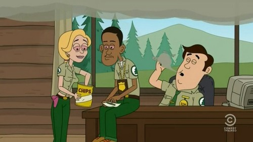 Brickleberry wallpaper with anime titled Marijuana time