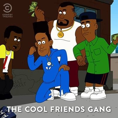 Brickleberry wallpaper with anime called Cool friends gang