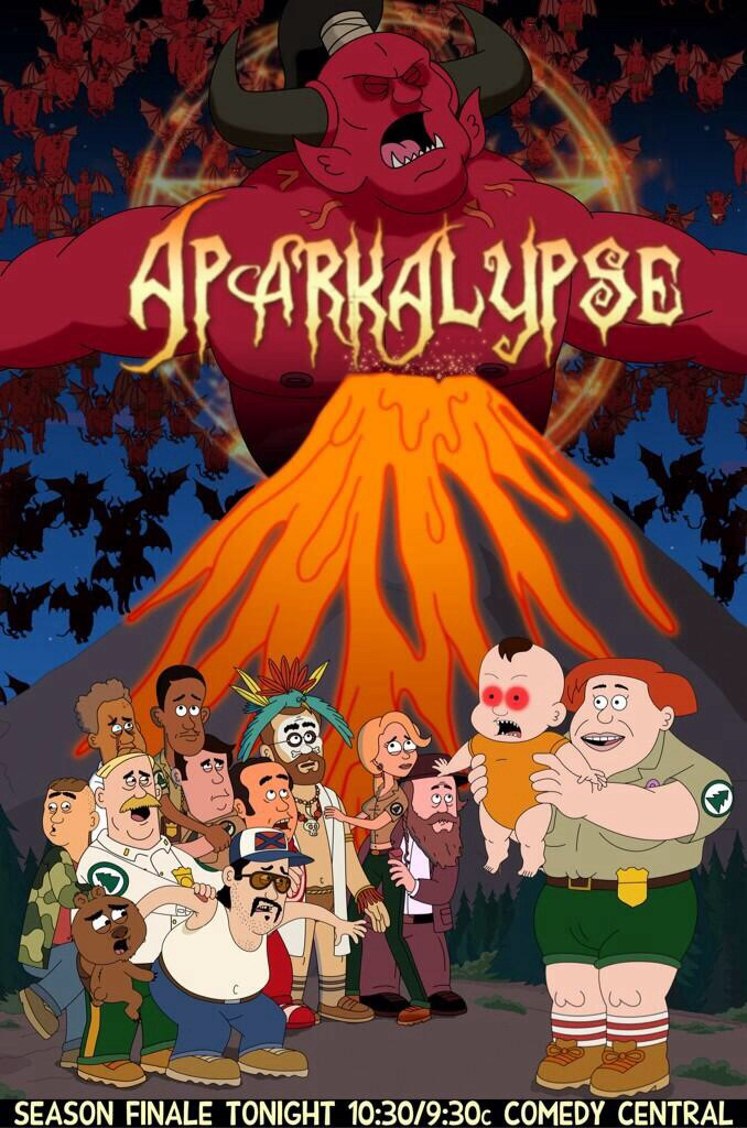 Brickleberry Images Aparkalypse Hd Wallpaper And
