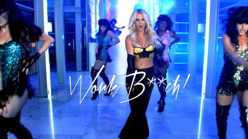 Britney Spears wallpaper possibly with a fountain called Britney Spears Work B**ch ! Premiere
