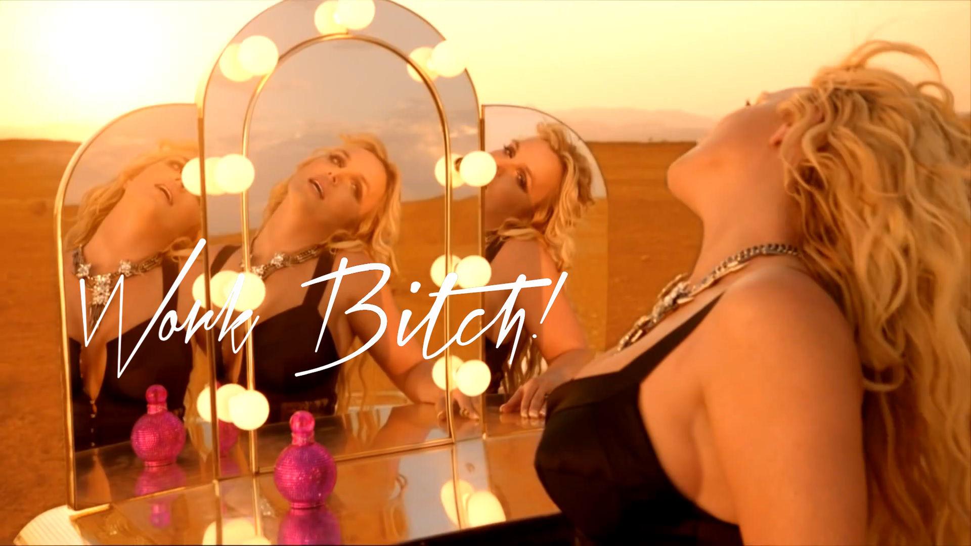 Britney Spears Work menggerutu, jalang ! Uncensored