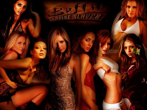 Buffy, la cazavampiros fondo de pantalla entitled Buffy The Vampire Slayer