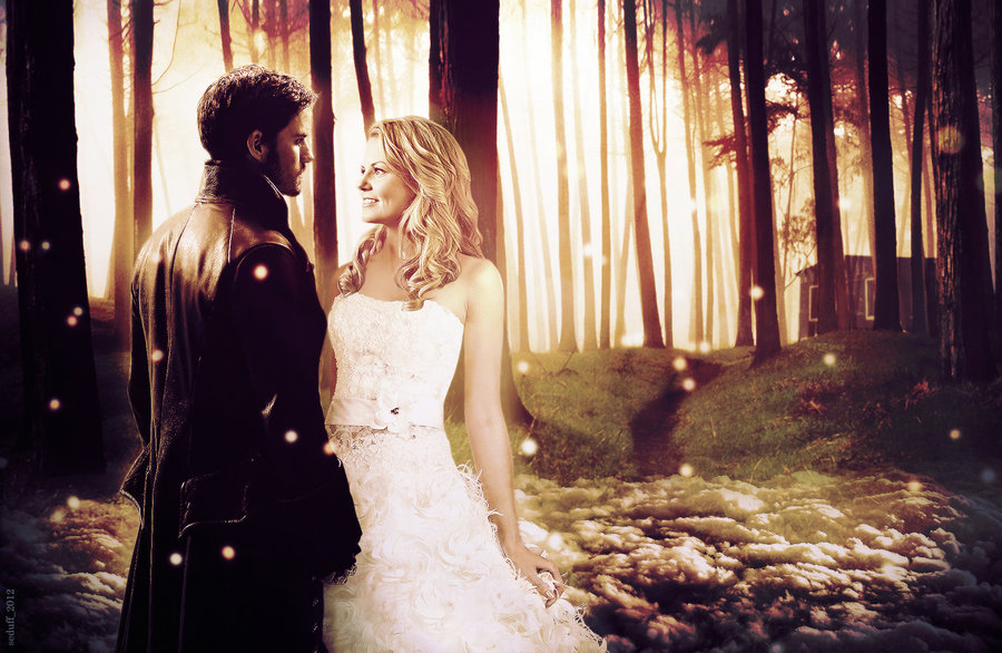 Captain Swan - Captain Hook and Emma Swan Fan Art ...