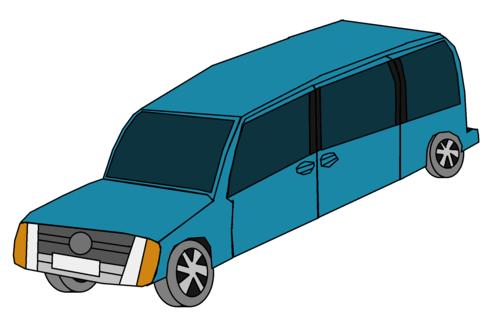 Cars wallpaper entitled Aqua Car Van