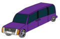 Purple van