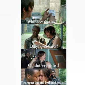 Daryl Loves Carol?