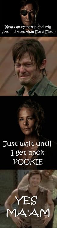 The Governor Vs. Daryl (Sex Life)