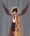 Female!Castiel - castiel fan art