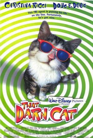 "Movie Poster For 1997 Disney Film, ""That Darn Cat"""