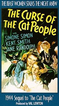 "Movie Poster For The 1944 Horror Movie, ""The Curse Of The People"""