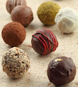 cokelat wallpaper titled Truffles Chocolates Choko la