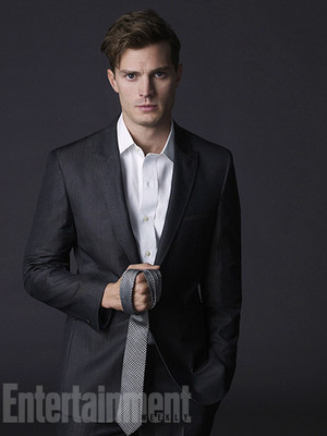 Jamie Dornan's first images as Christian Grey