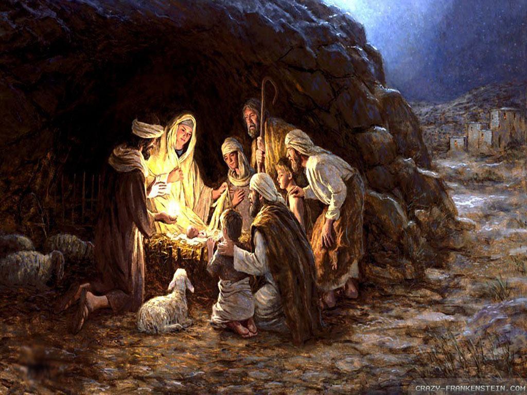 Christmas Images Born Jesus Hd Wallpaper And Background Photos
