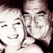 Clark Gable and Marily Monroe