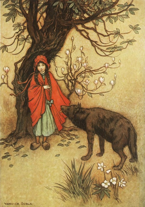 Classic Fairy Tales Storys images little red ridinghood wallpaper ...