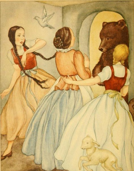 Classic Fairy Tales Storys images Snow White and Red Rose ...