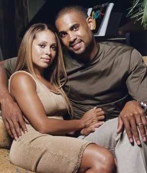 Singer, Tamia And Husband, Grant bukit