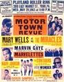A Vintage Motown Revue Tour Poster