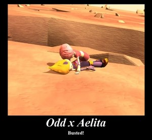 Odd and Aelita