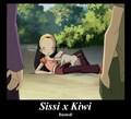 Sissi and Kiwi