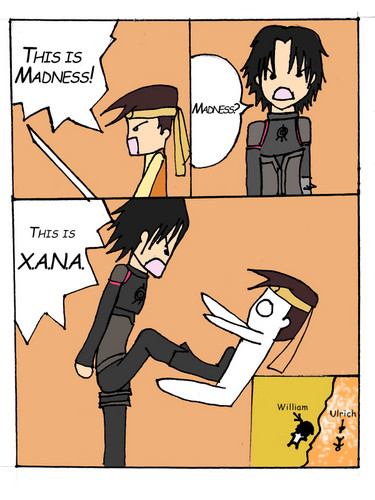 Code Lyoko kertas dinding with Anime called This is XANA