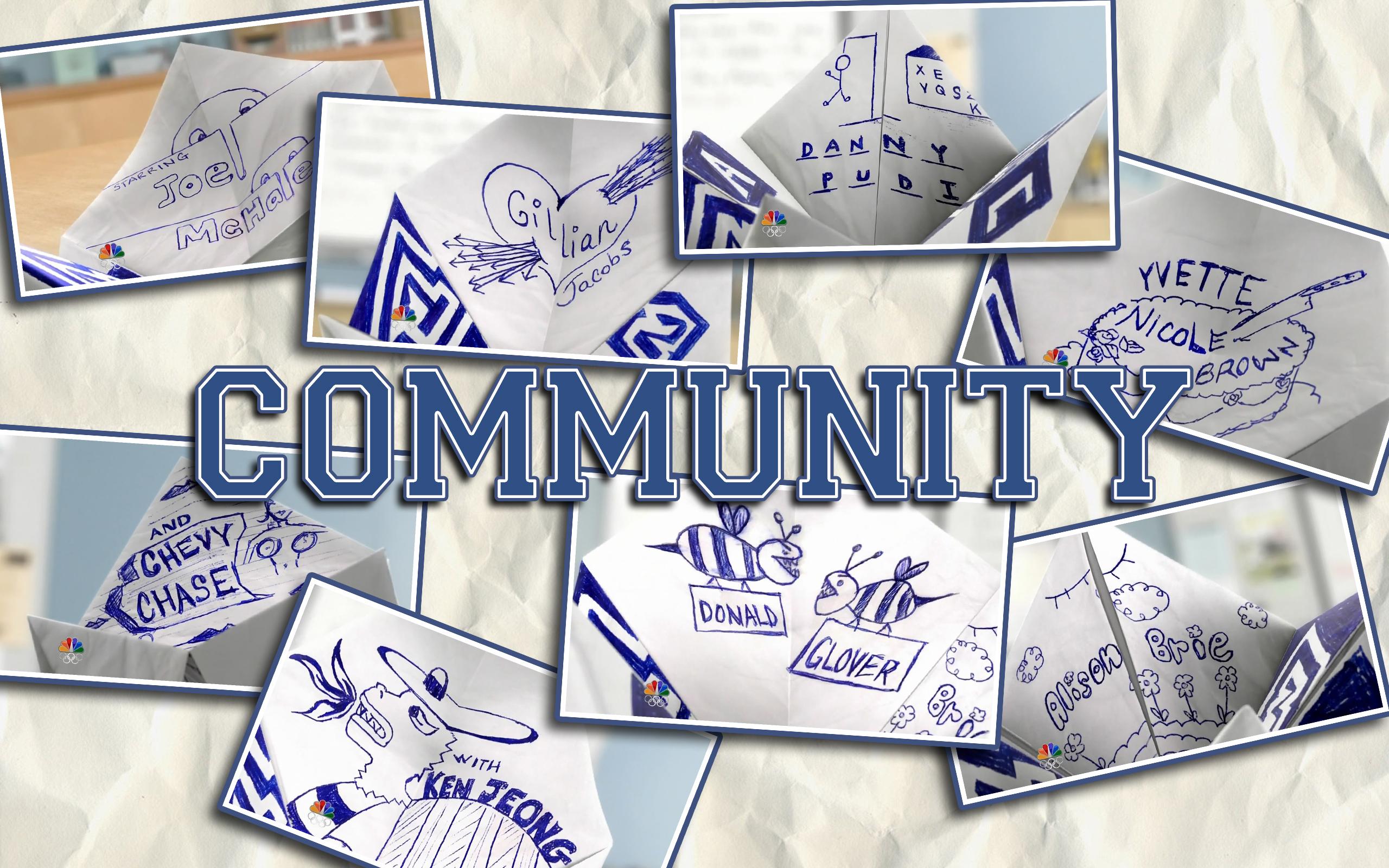 Community opening credits