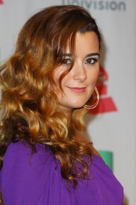 Cote de Pablo fond d'écran with a portrait entitled Cote - Latina awards 2013