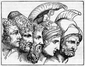 Griegos de la Mitologia