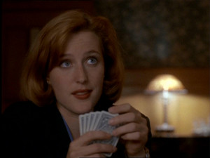 Dana Scully স্মারক