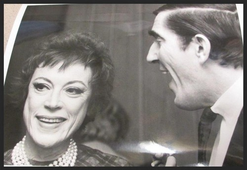 Dark Shadows fond d'écran probably with a sign and a portrait called Grayson Hall and Jonathan Frid