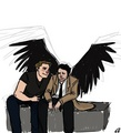 Dean and Castiel ☜ - dean-and-castiel fan art