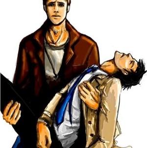 Dean and Castiel ☜
