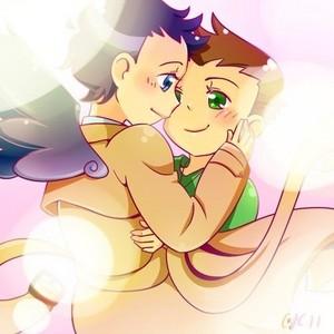 Dean and Castiel ♡